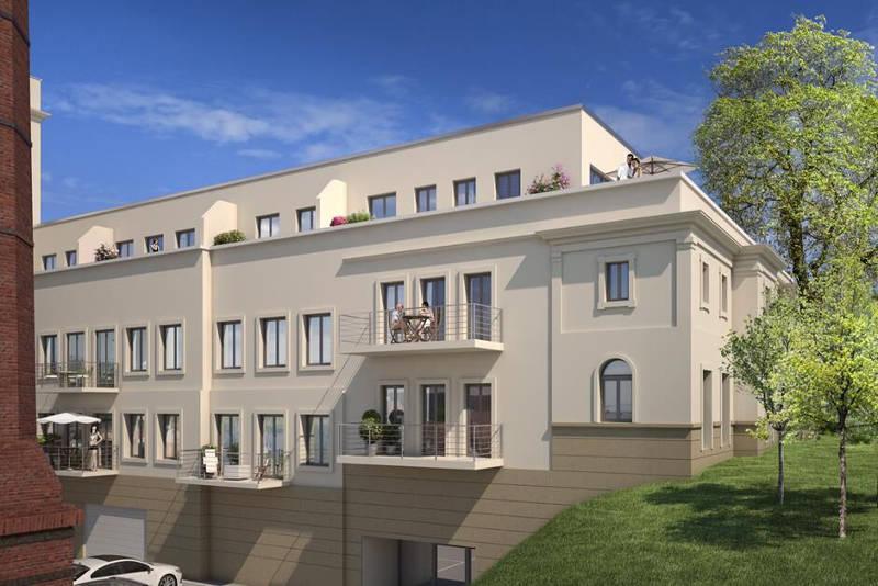 Projekt Bienertmühle Dresden BABIII-Seitenansicht